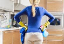 laver comptoirs cuisine